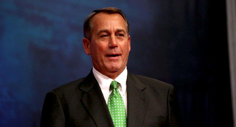 Former Speaker Boehner Joins Board Of Marijuana Corporation